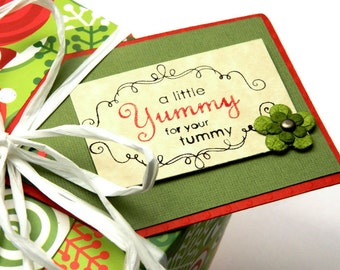Christmas Hang Tags - Baking Tags - Goodie Bags Tags - Holiday Gift Tags - Xmas Hanging Tags - Holiday Bakers Tags - Tags For Cookies