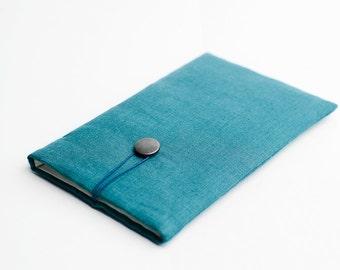 Macbook Air 11 inch sleeve, teal.