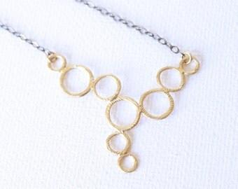 Gold Necklace - 18k Gold Pendant Charm Necklace