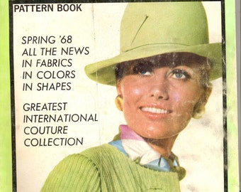 Vogue International Pattern Book (Magazine) February March 1968