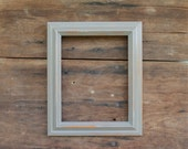 Gray 8 x 10 Frame Rustic Grey Vintage Distressed Wood Cottage Shabby Beach Decor Photo Picture Wedding Gallery