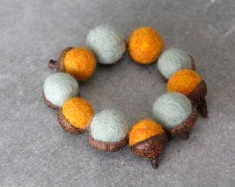 Tangerine + Mint Acorns