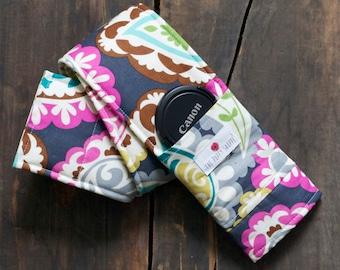 Camera Strap Cover- Rocobeat Paisley