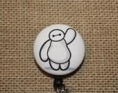 Baymax Big Hero 6 Badge Reel ID Holder