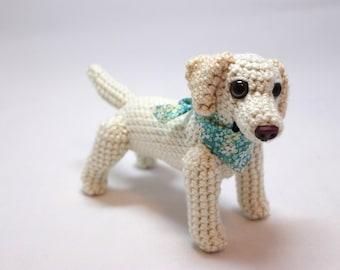 Yellow Labrador Retriever Doll