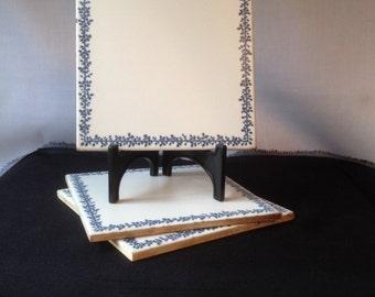 Three Vintage Richard Ginori Tiles Made in Italy