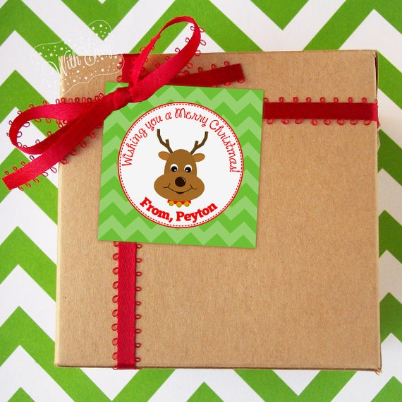 Personalized Christmas Gift Tags: Personalized Christmas Tags