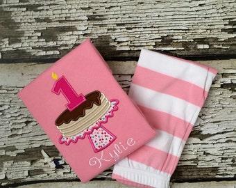 Pancake Pajamas - Birthday Pancake PJS - Personalized Pancake Breakfast Party - Breakfast Pajamas - Birthday Outfit- Girls Pajamas