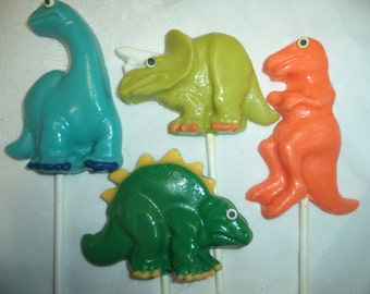 Dinosaurs Prehistoric Animals Dinosaur Chocolate Candy Lollipops Treats Children's Birthday Party Favors