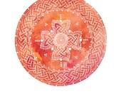 Celtic Mandala Archival Art Print