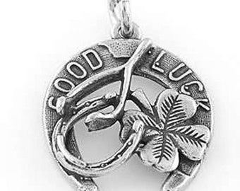Sterling Silver Good Luck Charm or Pendant