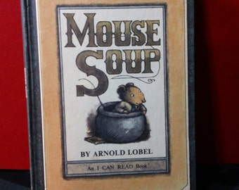 Mouse Soup by Arnold Lobel vintage 1977 I Can Read Book hardcover children's storybook