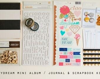 Daydream Mini Album / Journal and Scrapbook Kit