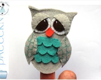 Owl Finger Puppet PATTERN.