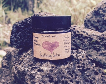 Soothing Salve- All Purpose Healing Herbal Ointment