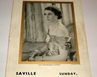 1951 Gracie Fields Autograph Programme Saville Theatre London Harry Secombe Vintage Ephemera Antique Ephemera Vintage Theater