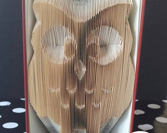 Motorcycle folded book art pattern owl folded book art pattern pronofoot35fo Choice Image