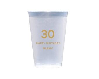 50 Birthday Frost-Flex ™ Cups