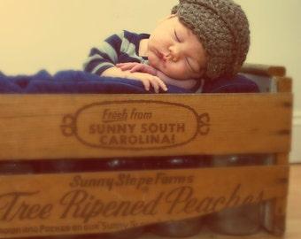 Infant Hat, Newborn Boy Hat, Newborn Hat, Baby Boy Hat, Baby Hat, Sale Photo Prop, Newborn Photo Prop, Sale Props, Winter Baby Hat, Boys Hat