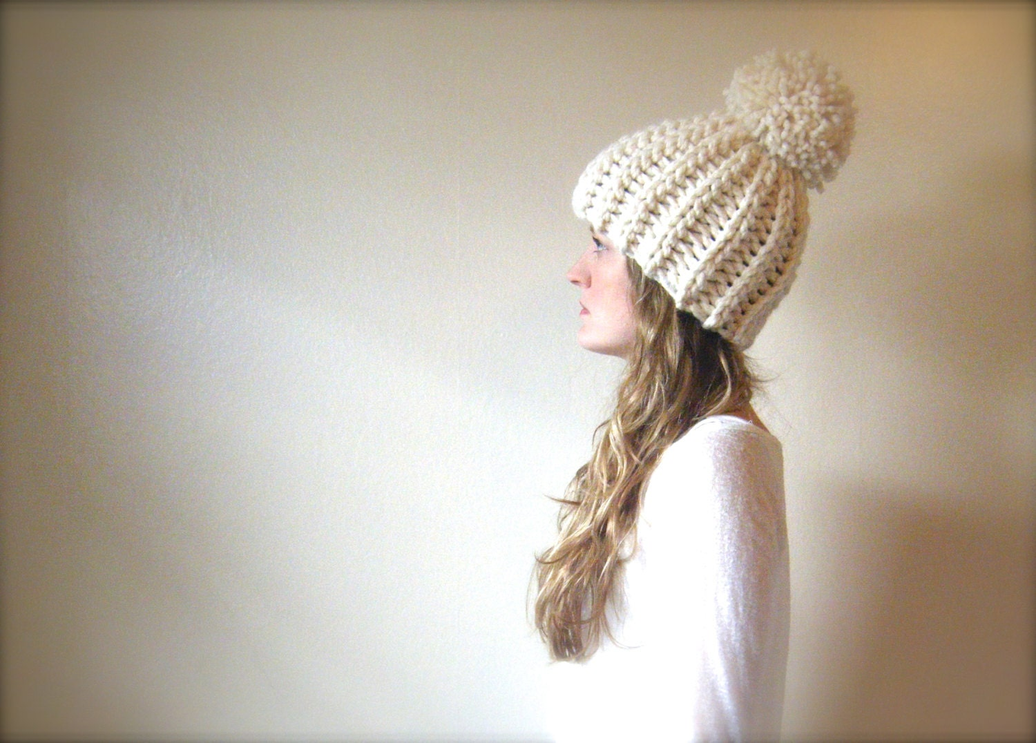 Crochet Hat Pattern Super Bulky Yarn : DIY Crochet Pattern: Tuckermans Hat PDF & ViDeO LiNk