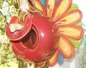 Apple Teapot birdhouse