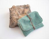 tobacco pouch tobacco case tobacco bag upholstery tobacco pouch pipe tobacco bag green mint tobacco case mint and beige tobacco bag