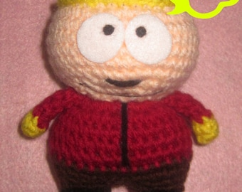 PATTERN: Crochet Amigurumi South Park Eric Cartman