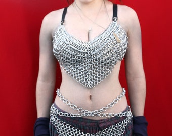 Medium Chainmail Pixie Top