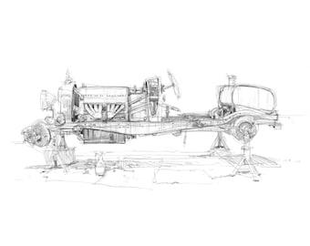 Type 35 Bugatti Limited Edition Print