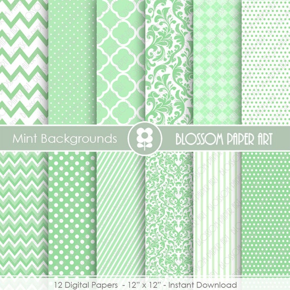mint green digital backgrounds digital papers mint textures