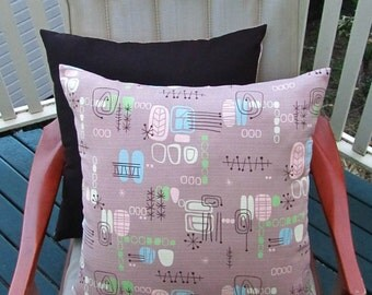 Latte atomic cushion cover