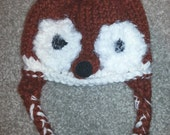 Knit Red Fox Hat