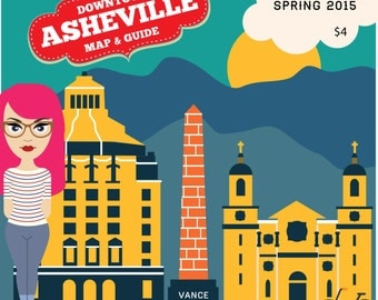 Asheville Map and Guide