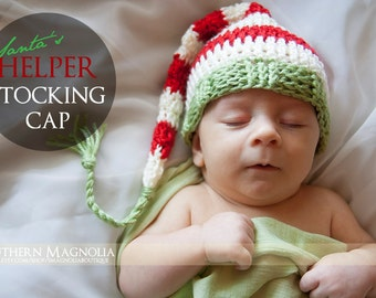 Santa's Helper Stocking Cap