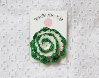 Flower Hair Clip/Barrette