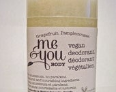 Vegan Deodorant-Grapefruit Scent-Handmade-Natural & Nourishing
