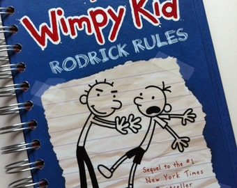 Diary of a Wimpy Kid Rodrick Rules Journal Notebook