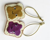 Peanut Butter and Jelly Christmas Ornaments