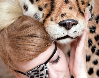 """Eye Patch """"Leo"""" - Leopard Carnival and Shooting Accessory"""