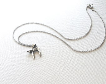 Chai Symbol Necklace in Sterling Silver