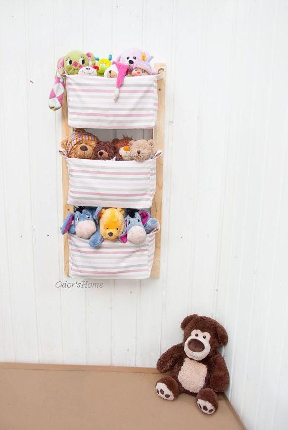 Change Table Storage   Custom Organizer   Nursery Storage Baskets   Kids  Room Toy Storage Nursery Hamper   Diaper Caddy Wall Organizer