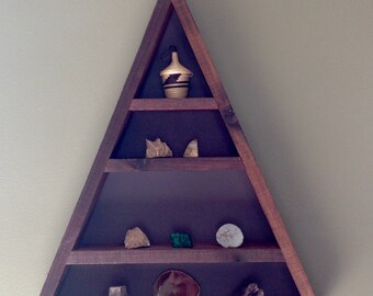 Large Triangle Shelf Made From Reclaimed lumber  *Use coupon code 15OFF to get 15% of of your order*