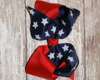 Large 4th of July Headbands, 4th of July Bow, 4th of July Baby Headbands, Infant Bow Headbands, Fourth of July Headband, Patriotic Headband