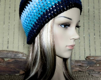 Crochet Hat, Womens Mens Crochet Beanie, Student Winter Wool Hat, Australia Nchanted Gifts