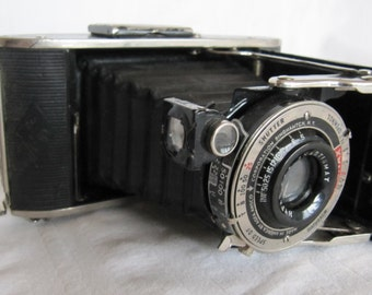 Vintage 30's PB 20 Plenax Camera Bellow Accordion Fold Up Decorative Non-Functioning