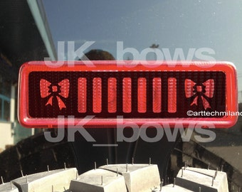Jeep wrangler BOWs decals
