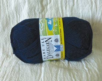 Baby Ull Dalegarn Dale yarn of Norway in deep blue