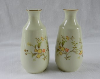 Salt and Pepper Shakers, Noritake Salt and Pepper Shakers, Champagne Pattern 8161/W83