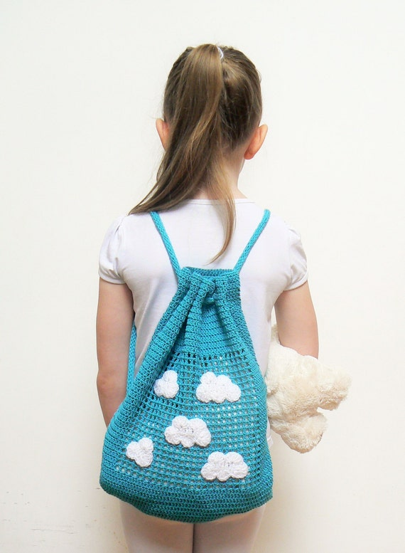 Crochet Bag For Kids : , Crochet Backpack, Beach Bag, Summer Bag, Toddler Backpack, Kids Bag ...