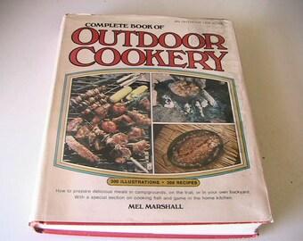 Barbecue Cookbook Outdoor Recipes Rustic BBQ Retro Recipe Book Campground Survival Eating
